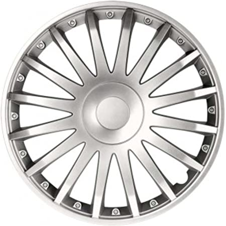 Rau Universal Radzierblende Crystal Silber 16 Zoll Für Viele Fahrzeuge Passend Auto