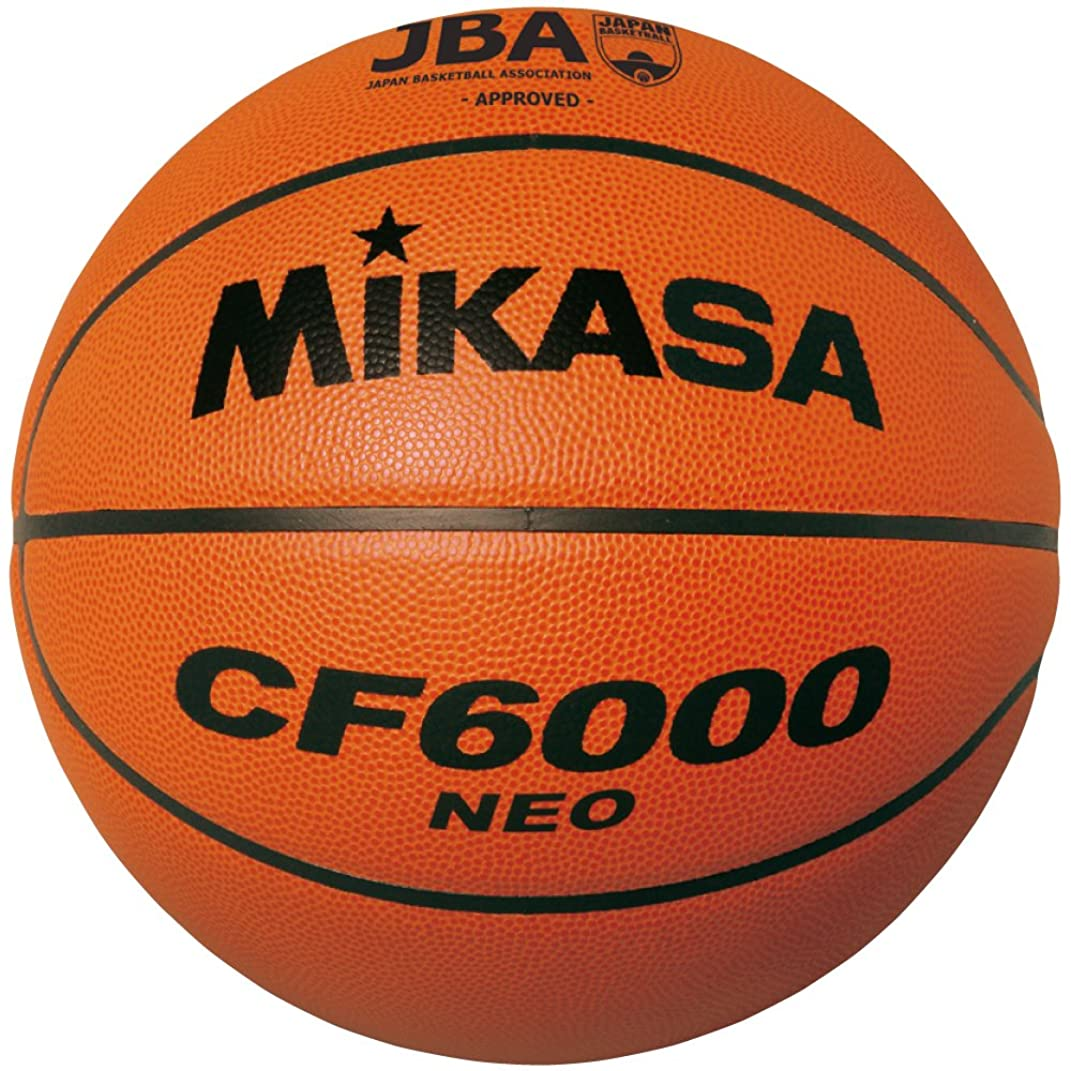 通知自動一掃するミカサ バスケットボール 検定球6号 天然皮革 女子用(一般/大学/高校)/中学校用 CF6000NEO