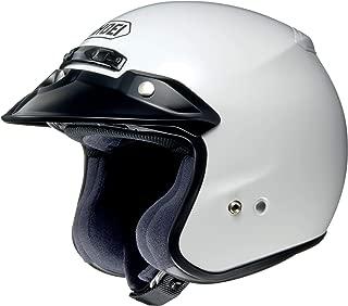 Shoei Solid RJ-Platinum R Cruiser Motorcycle Helmet - White/Large