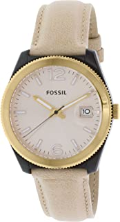 Fossil Perfect Boyfriend for Women - Casual Leather Band Watch - ES3777P