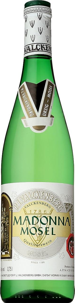 熟す栄光どうやら【100年の歴史ある甘口ドイツワイン】ファルケンベルク <マドンナ> モーゼル [ 白ワイン 甘口 ドイツ 750ml ]