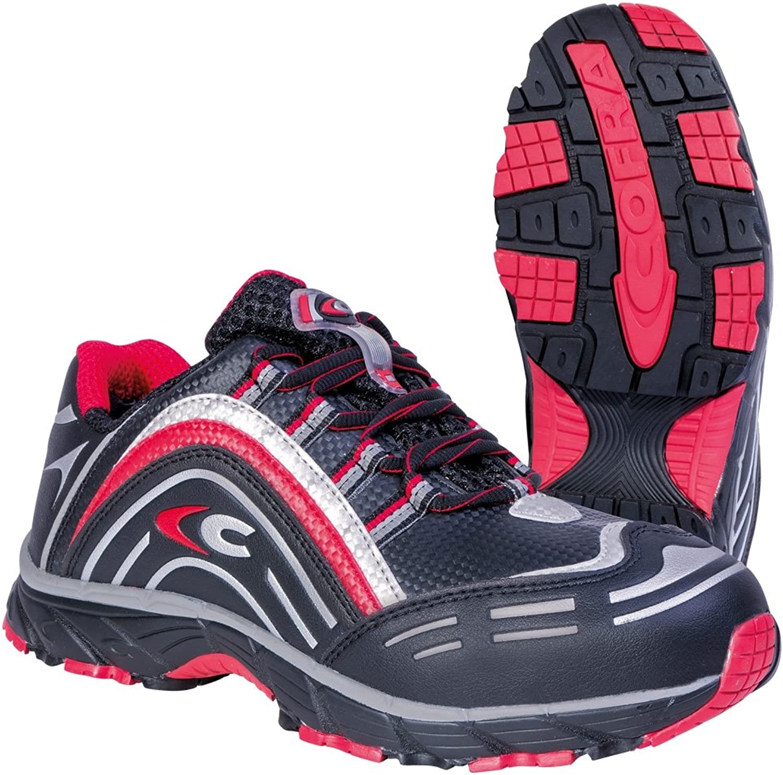 Cofra JV007-000.W39 Size 39 S3 SRC  New Predator  Safety shoes - Black - EN safety certified