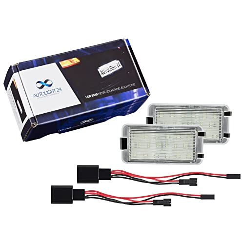 LED matrícula iluminación de matrícula 601