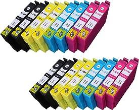 16 Multipack de alta capacidad Epson T1285 Cartuchos Compatibles 4 negro, 4 ciano, 4 magenta, 4 amarillo para Epson Stylus Office BX305F, Stylus Office BX305FW, Stylus Office BX305FW Plus, Stylus S22, Stylus SX125, Stylus SX130, Stylus SX230, Stylus SX235W, Stylus SX420W, Stylus SX425W, Stylus SX430W, Stylus SX435W, Stylus SX438W, Stylus SX440W, Stylus SX445W. Cartucho de tinta . T1281 , T1282 , T1283 , T1284 © 123 Cartucho