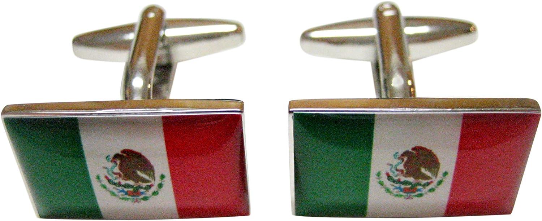 Mexico Flag Cufflinks