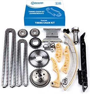 Engine Timing Chain Kit,ECCPP Automotive Replacement Timing Parts without Water Pump Sets for 2008-2015 Chevrolet Malibu E...