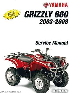 LIT-11616-GZ-66 YFM660FA Grizzly 660 Yamaha ATV Service Manual 2003-2008