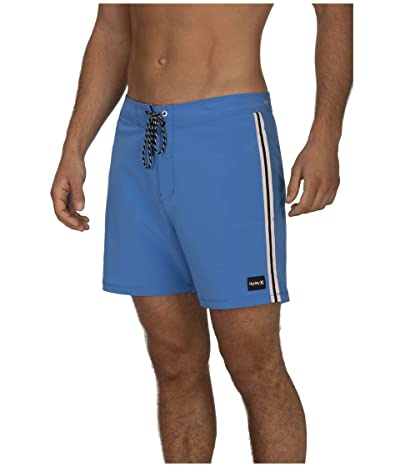 Hurley 16 Phantom Session Solid Boardshorts (Pacific Blue) Men