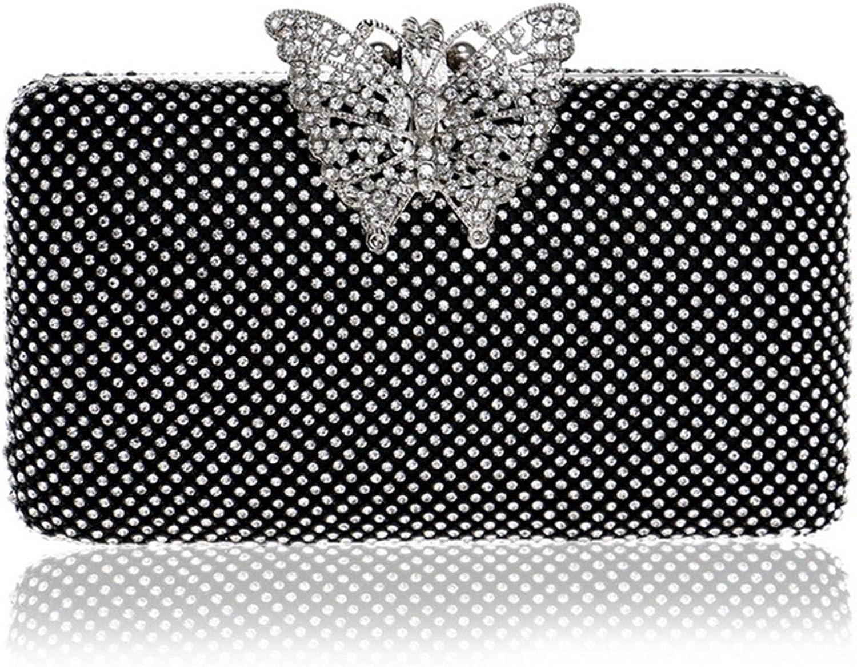 Lightlila Woherren Diamond Handtasche Schultertasche Clutch Handtasche Nacht Nacht Nacht Kleid Abendtasche (Farbe   schwarz) B07Q8411TL  Verpackungsvielfalt e87fde
