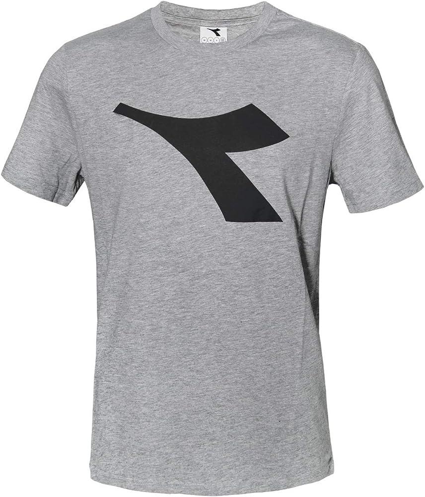Diadora t-shirt , maglietta a maniche corte per  uomo , con logo in risalto , 90% cotone, 10% viscosa DiadoraTShirt177173_1_1