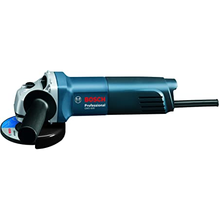 BOSCH GWS 600 professional Angle Grinder for Metal Working (with Brush Motor & Protective Guard - 660W, 100MM, M10) (Blue)