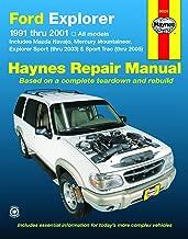 Ford Explorer & Mazda Navajo (91-01), Mercury Mountaineer (97-01), Explorer Sport (00-03), & Explorer Sport Trac (01-05) Haynes Repair Manual