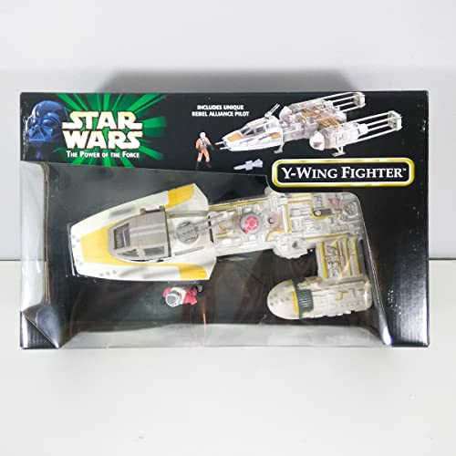 en linea Star Wars Power of the Force Y-Wing Fighter Target Exclusive Exclusive Exclusive  selección larga