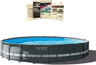 Intex 20ft x 48in Ultra XTR Frame Pool Set w/Pump, Ladder, Winterizing Kit