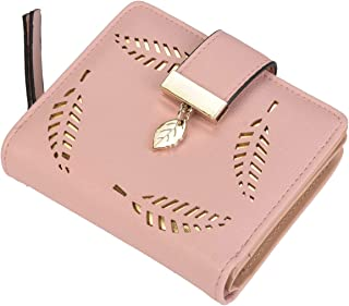 Paradox Girls Leaf Bi-fold Card Holder Womens Purse Clutch Wallet