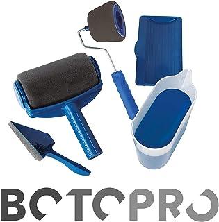 BOTOPRO - Rodillo de pintura Paint Runner Pro, sin goteos, ni salpicaduras