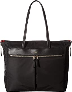 KNOMO London Mayfair Grosvenor Place Expandable Top Zip Tote