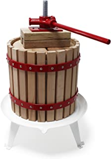 Prensa de 30 litros para fruta incl. prensa de prensado, prensa de mosto, prensa de vino, prensa de manzanas