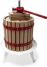 Wiltec 6L Obstpresse incl. Presstuch Maischepresse Weinpresse Apfelpresse Fruchtpresse