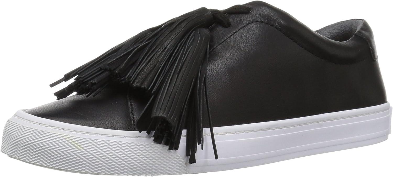Loeffler Randall Womens Logan (Nappa Nappa Tassel) Sneaker