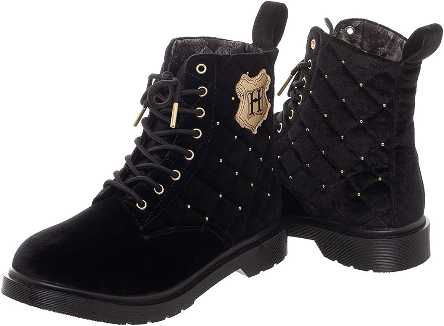 Harry Potter Quilted Womens Boots Size 10