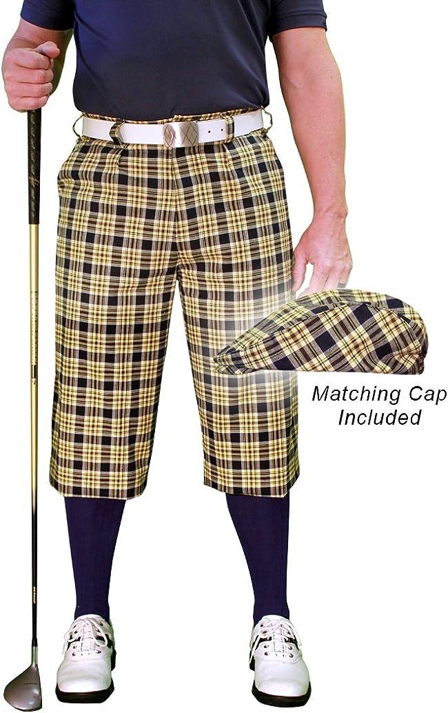 Golf Austin Mall Superlatite Knickers Plaid and Cap: 'Par Mens Perth - 5'