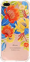 iPhone 7 Plus Case 8 Plus case Flower Floral Clear Soft TPU Flexible Case Full Cover Protective Bumper Change Wireless Girl and Friends Printed Case iPhone 7P/8P Multi-Colored
