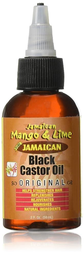 Jamaican Mango and Lime Black Castor Oil, Original, 2 Ounce