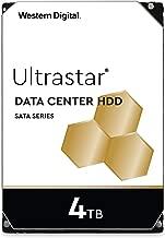 Western Digital 4TB Ultrastar DC HC310 SATA HDD - 7200 RPM Class, SATA 6 Gb/s, 256MB Cache, 3.5