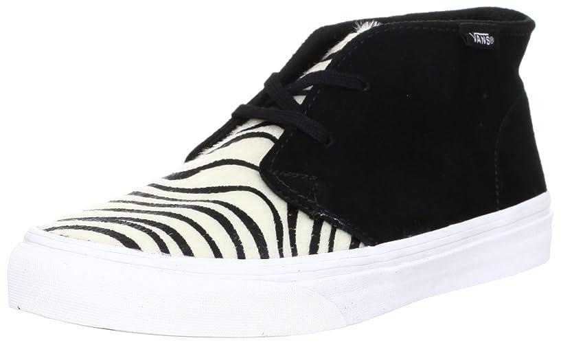 鼻野球便利さ[バンズ] レディース Unisex Chukka Slim Zebra Sneakers Blacktruewh