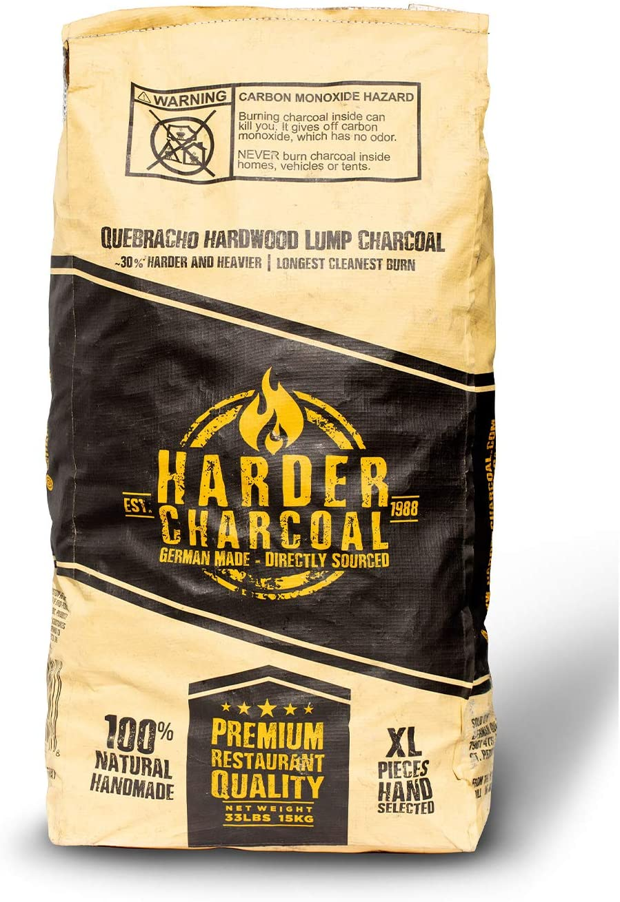 Harder HAXLWC33 100 Percent Natural Lump Charcoal