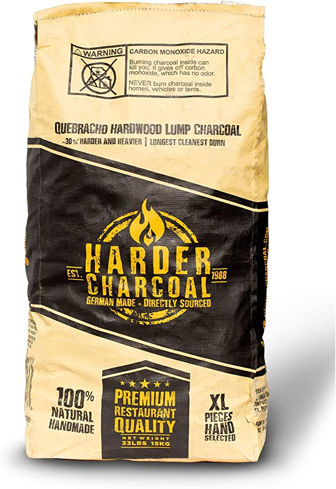 Harder Charcoal HAXLWC33 Barbecue Grilling Lump Charcoal - Best for Eco-friendly Features