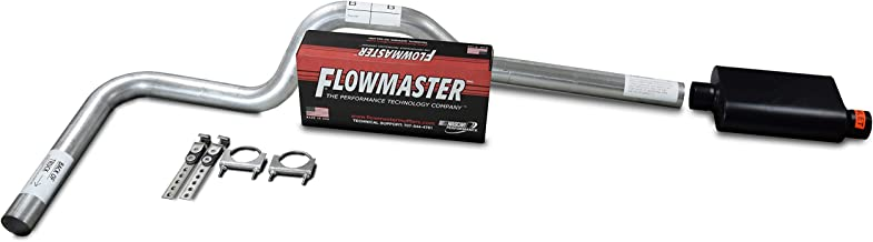 XsvFLO Exhaust Kits - Shopline Single exhaust system 3in AL pipe Flowmaster Super 44