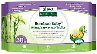 Aleva Naturals Aleva Natural Bamboo Baby Travel Wipes - 30ct, Original, 30ct, 30 count