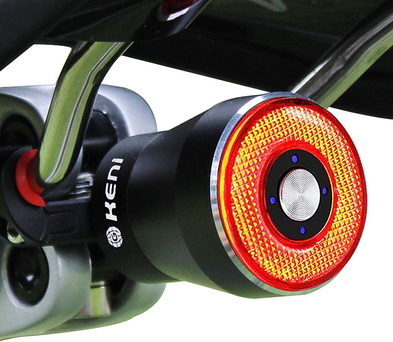 LED Bike Tail Light Bicycle Safety Cycling Warning Rear Lamp USB Rechargeable
