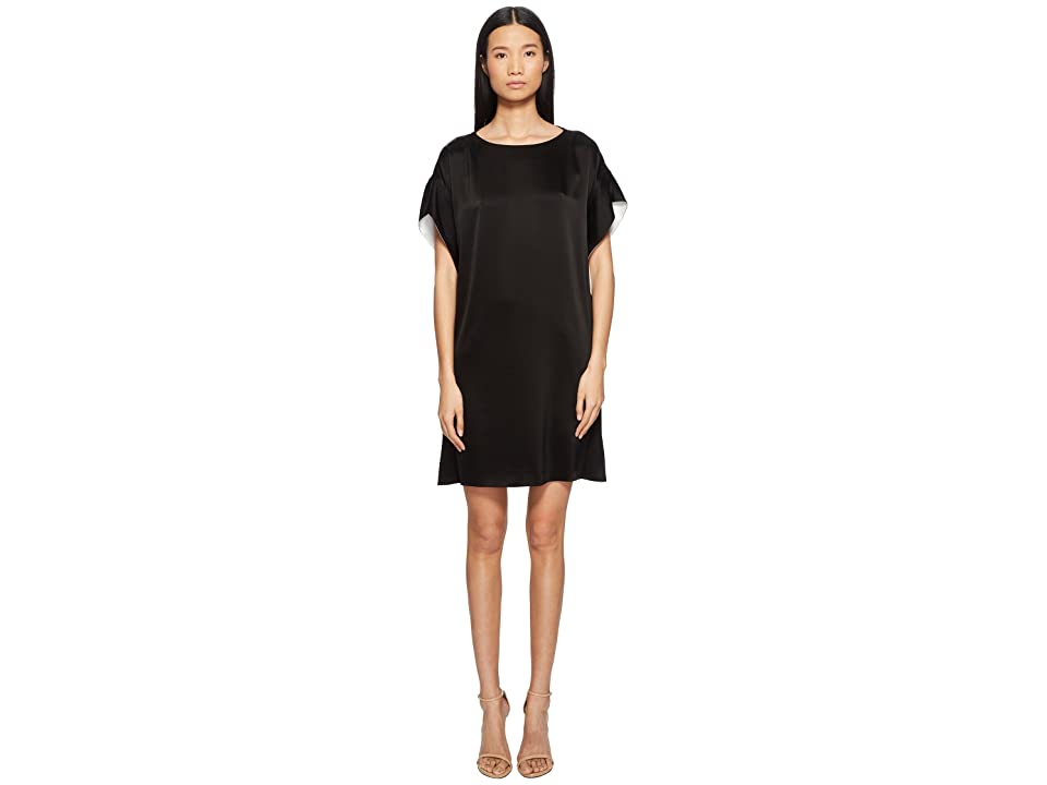 ESCADA Dallana Flutter Dress (Black) Women