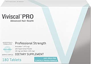 Viviscal - Professional Strength Hair Growth Supplement- 3 Pack (3 x 60 Tablets)