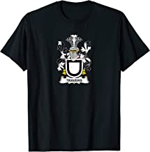 Travers Coat of Arms - Family Crest Shirt