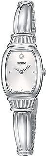 Seiko Women's SUJF23 Diamond Silver-Tone Watch