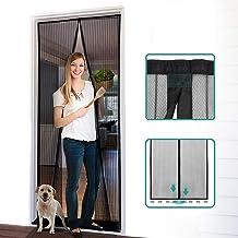 Homitt Magnetic Screen Door with Heavy Duty Mesh Curtain and Full Frame Hook&Loop,..