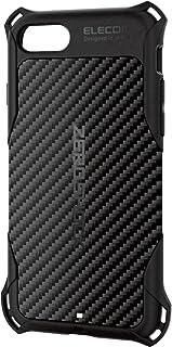 エレコム iPhone SE (2020 第2世代) / 8 ケース カバー 衝撃吸収 【 落下時の衝撃から本体を守る 】 ZEROSHOCK iPhone 7 対応 ブラック PMWA17MZEROGBK