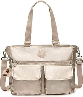Pia Tote Bag, Removable Crossbody Strap, Zip Closure