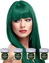 directions alpine green on dark hair