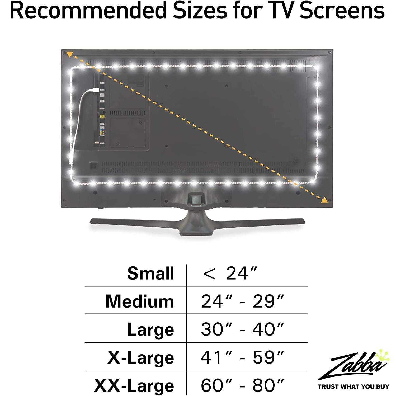 Alimentación práctica luminoodle Bias Lighting para HDTV: Amazon.es: Hogar