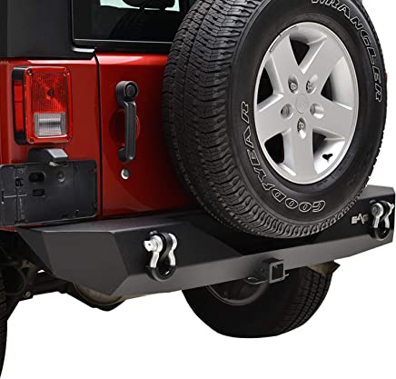 EAG Rear Bumper Guard with 2