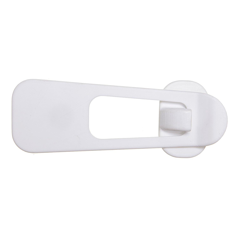 Dreambaby Premium Refrigerator and Appliance Latch - White - Model L1403