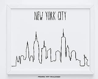 New York City Wall Decor - 14x11