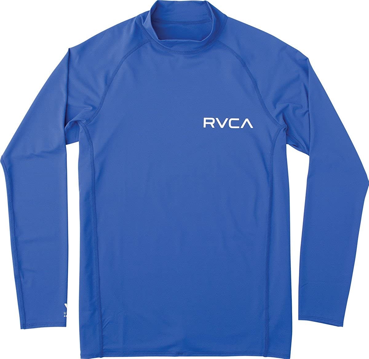 RVCA Boys Big Solid Long Sleeve Rashguard