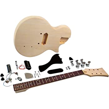 Saga LJ-10 Student Electric Guitar Kit - Single Cutaway