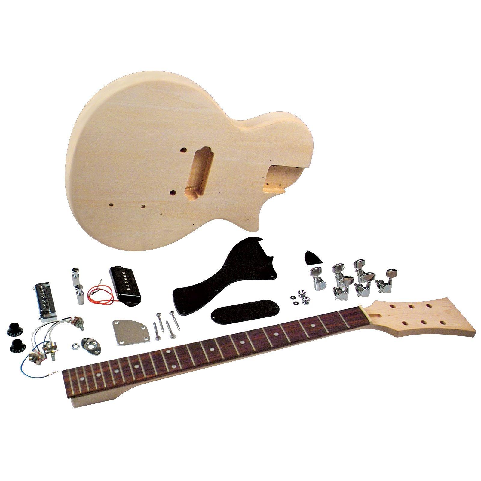 Cheap Saga LJ-10 Student Electric Guitar Kit - Single Cutaway Black Friday & Cyber Monday 2019